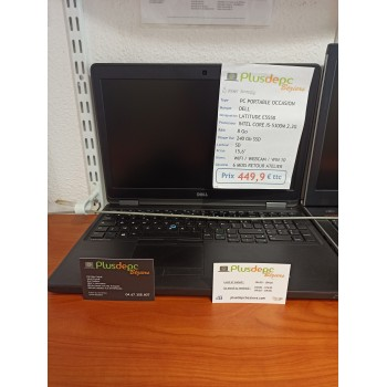 PC portable occasion Dell...
